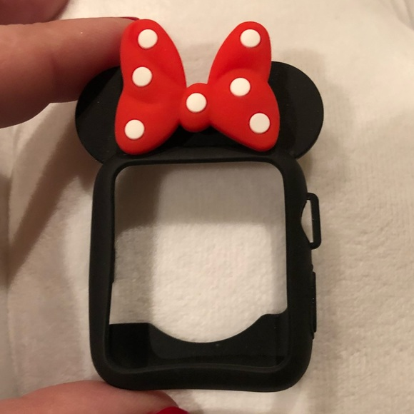 the latest 44714 d4e28 Minnie Mouse Apple Watch Cover